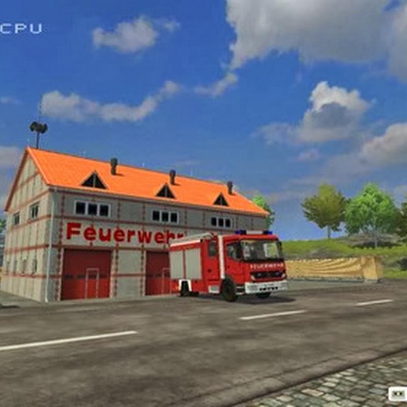 Farming simulator 2013 - City Fire v 1.2 Map Mod
