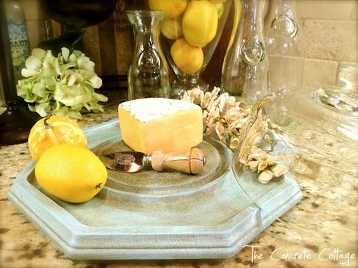Glass Cheese Cloche 25