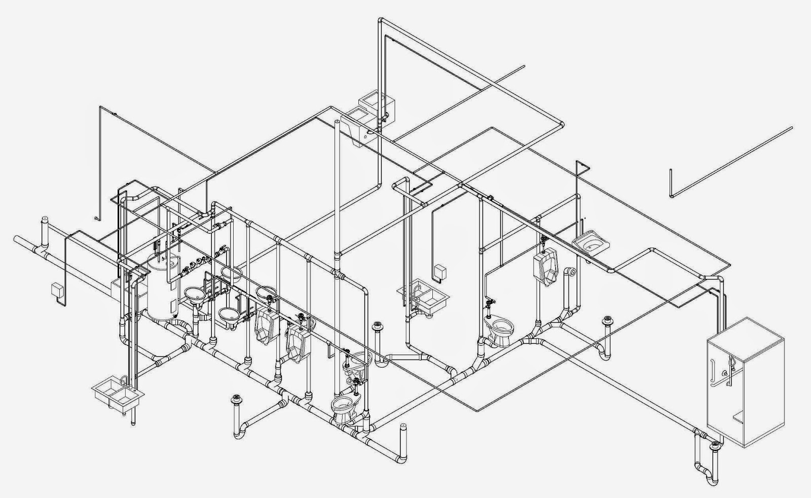 Plumbing contractor los angeles isometric plumbing sketch you can also purchase isometric graph paper or use printable graph paper isometric blueprint sketch plumbing contractor plumbingengineer malvernweather Gallery