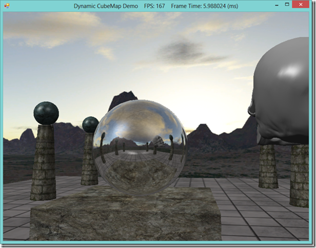 Dynamic Environmental Reflections in Direct3D 11 and C#