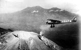 Gunung Welirang from the air (unknown photographer, 1920-1935) Courtesy TropenMuseum Archives
