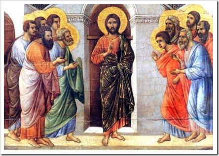 Jesus aparece aos discipulos