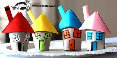 decoratiuni de craciun-casute colorate