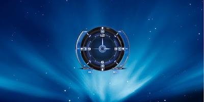 Screenshot of Galaxy Transparent Wallpaper