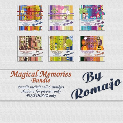 Magical Memories - Bundle