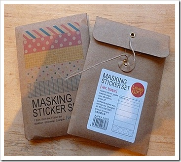 WholePort Masking Sticker Set