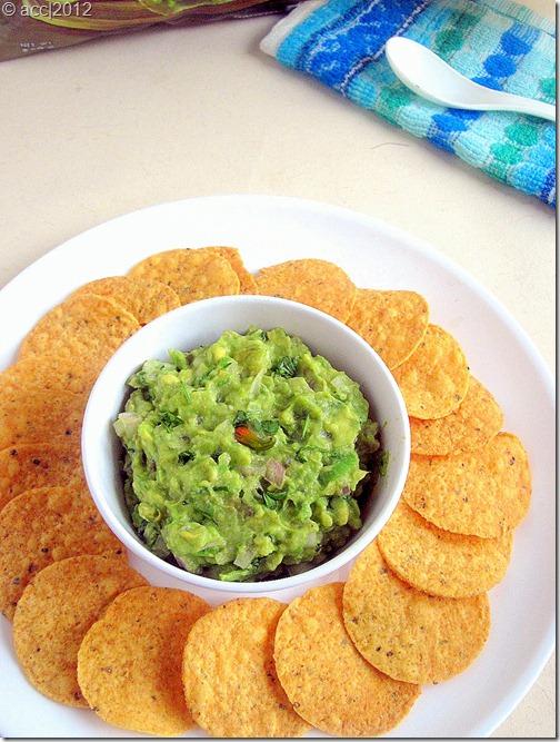 guacamole dip 1