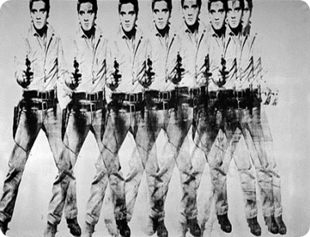 Eight Elvises, Andy Warhol