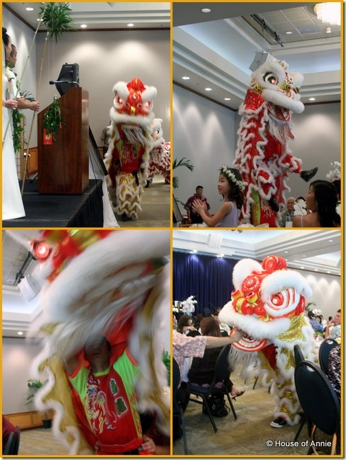 Wedding Reception Lion Dance