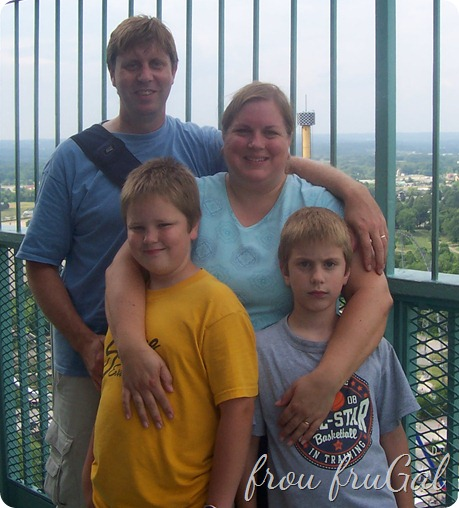 Family at King's Island 2005