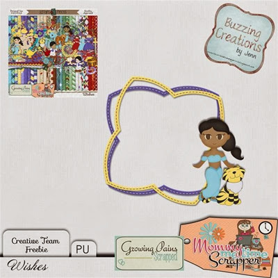 MMTS & GPS - Wishes - Frame Freebie Preview