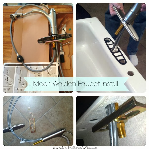 Moen Walden Kitchen Faucet Install Review and a Moen