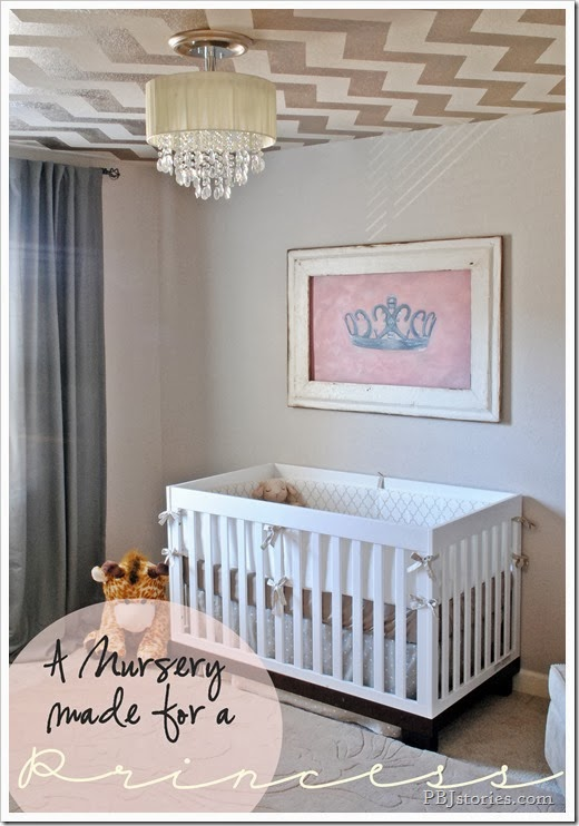 PBJstories Baby Girl Nursery Reveal