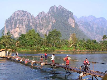 Obiective turistice Laos: Vang Vieng
