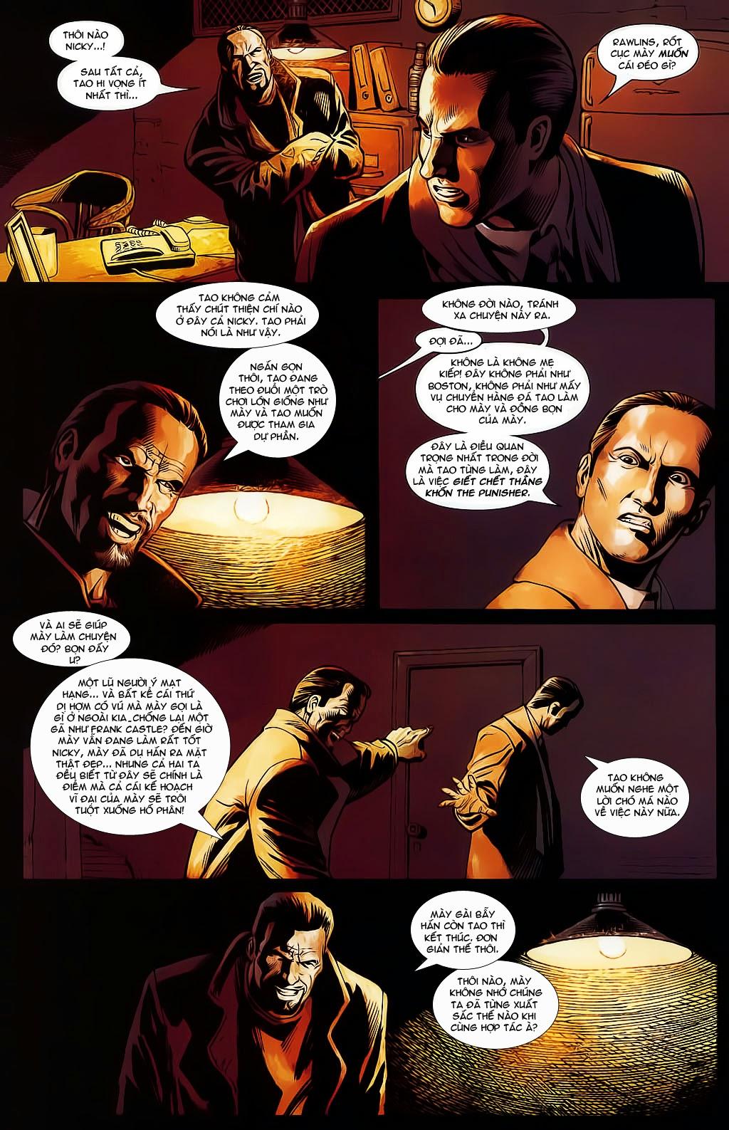 The Punisher: Trên là Dưới & Trắng là Đen chap 4 - Trang 9