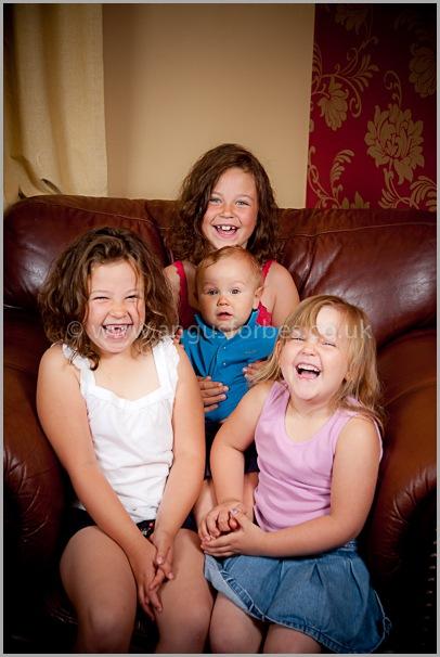 perthshire family portrait