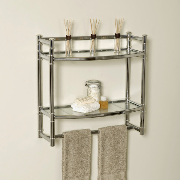 9012ss Bathroom Wall Shelves