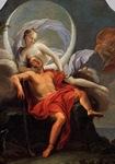 Selene y Endimión,  Filippo Lauri (1650)