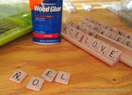 #NUO2013 Scrabble #Ornaments #Christmas