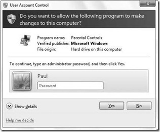 Running as Standard User with Parental Controls in Windows_7