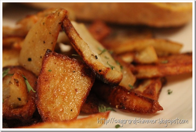 crispy roasted potatoes 1
