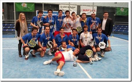 El Perú Cáceres Wellness logra el ascenso a la máxima categoría nacional en Pamplona.