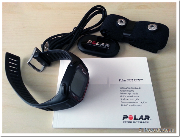 Unboxing Polar RC3 GPS HR