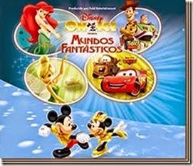 Disney on ice sobre hielo mundos fantasticos en Arena monterrey boletos baratos en linea