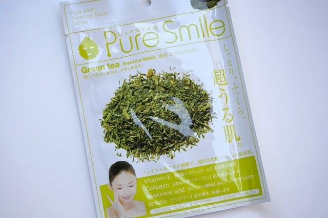 Pure Smile Green Tea Mask Sheet