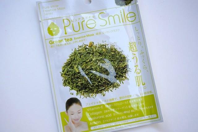 Pure Smile Green Tea Mask Sheet