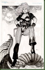 BLACK_CANARY_Inkwashed_by_thepunisherone