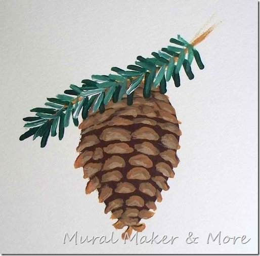 how-to-paint-pinecones-7
