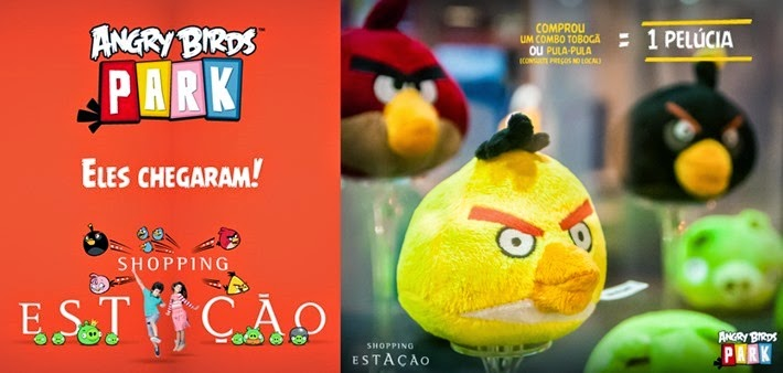 shopping estacao angry birds park