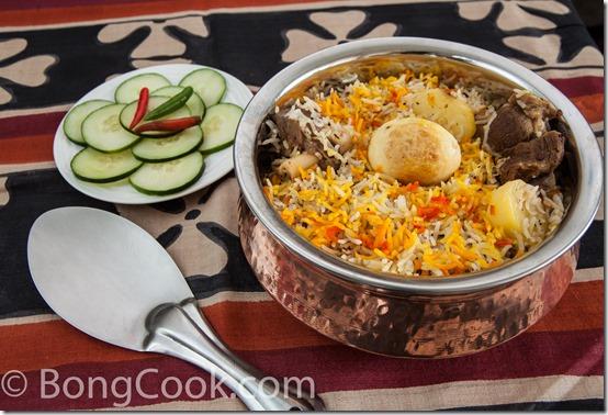 Kolkata mutton biriyani biryani bongcook bengali and indian recipes img1840 forumfinder Choice Image