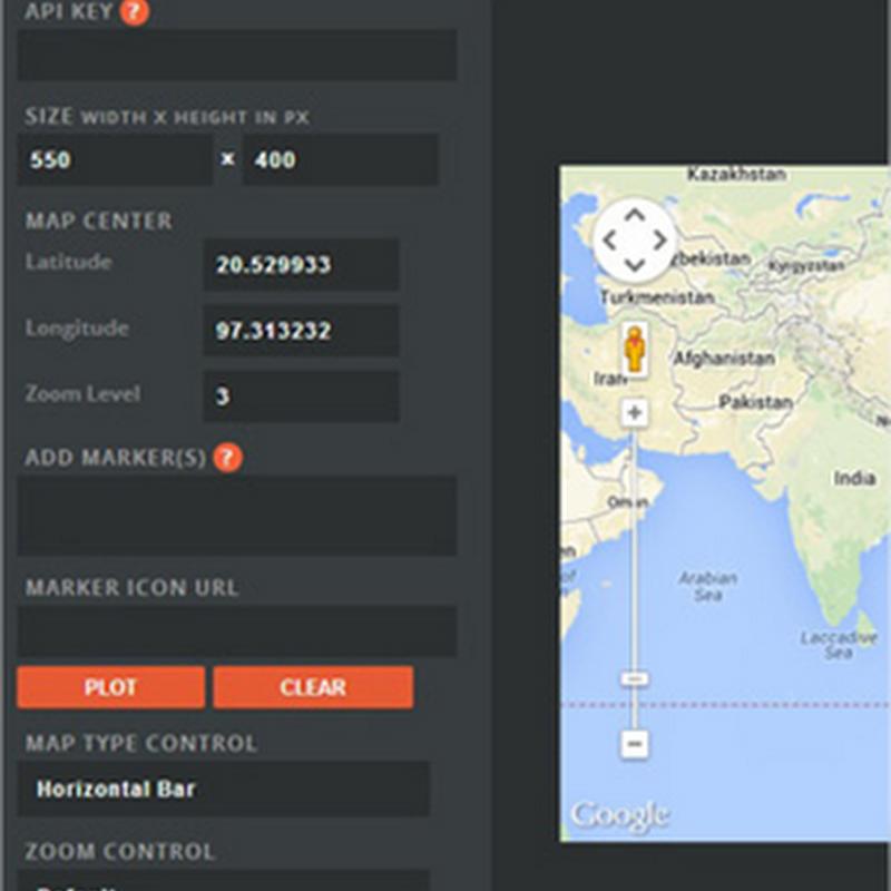 Google MapBuilder, herramienta web para personalizar los mapas de Google Maps