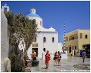 Церковь Панагея Плацани, г.Ия.Остров Санторини. Греция.