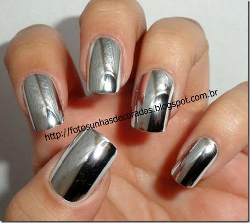 esmalte metalizado prata