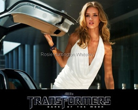 Rosie Huntington Whiteley Transformers 3