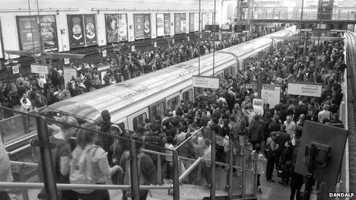 Londra'da Metro İşçilerinin Grevi