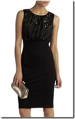 Ted Baker Black Sequin Dress