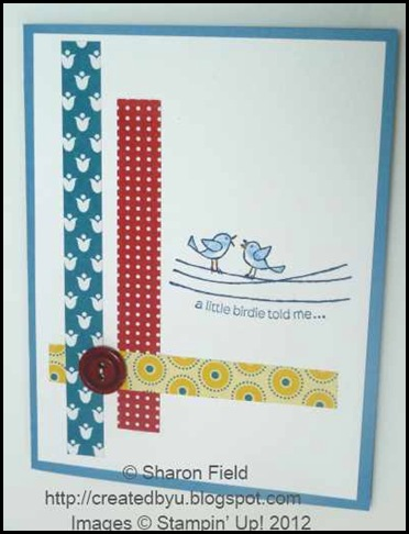 for the birds card for seniors stampers
