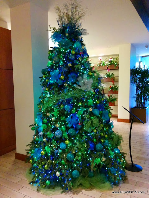Hyatt Place Waikiki Christmas Tree 2013