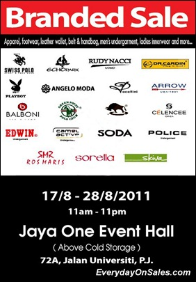 Branded-Sale-Jaya-One-2011-EverydayOnSales-Warehouse-Sale-Promotion-Deal-Discount