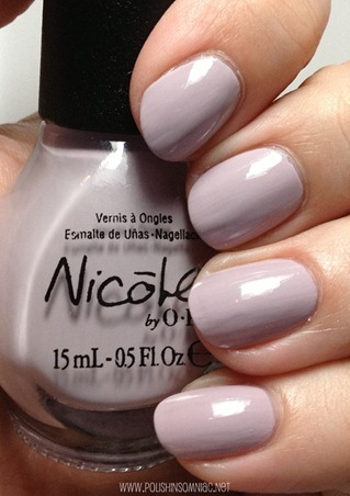 Nicole by OPI Am I Making Myself Claire