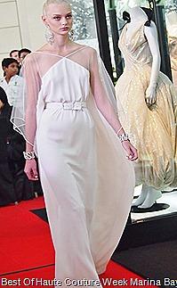 Alexis  Mabille Parisan Haute Couturier  Silk Gown