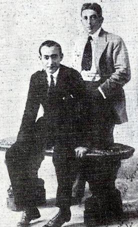 1919-20 Joselito en Lima con Alfredo Lama
