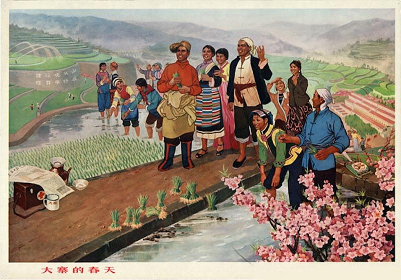 Spring in Dazhai-1970