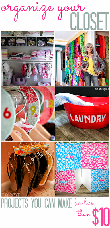Organize Your Closet (for less than $10!) - All Cheap Crafts