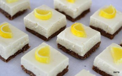 Lemon Cheesecake Slice - Simply Heavenly