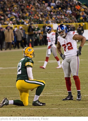 'Aaron Rodgers, Osi Umenyiora' photo (c) 2012, Mike Morbeck - license: http://creativecommons.org/licenses/by-sa/2.0/